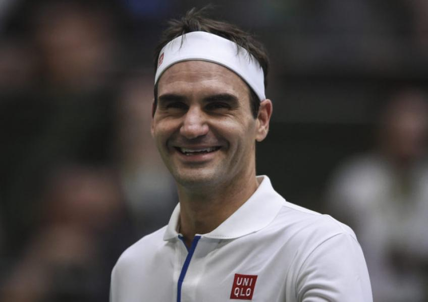 'It was always very brief with Roger Federer', says French star
