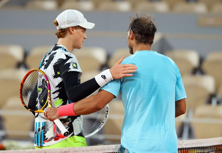 Rafael Nadal to train with Jannik Sinner for a week in Melbourne