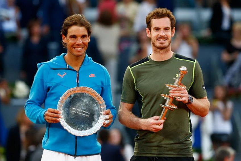 Rafael Nadal: 'Andy Murray is still passionate about tennis'