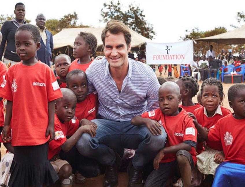 The Roger Federer Foundation: on a mission to give children a future