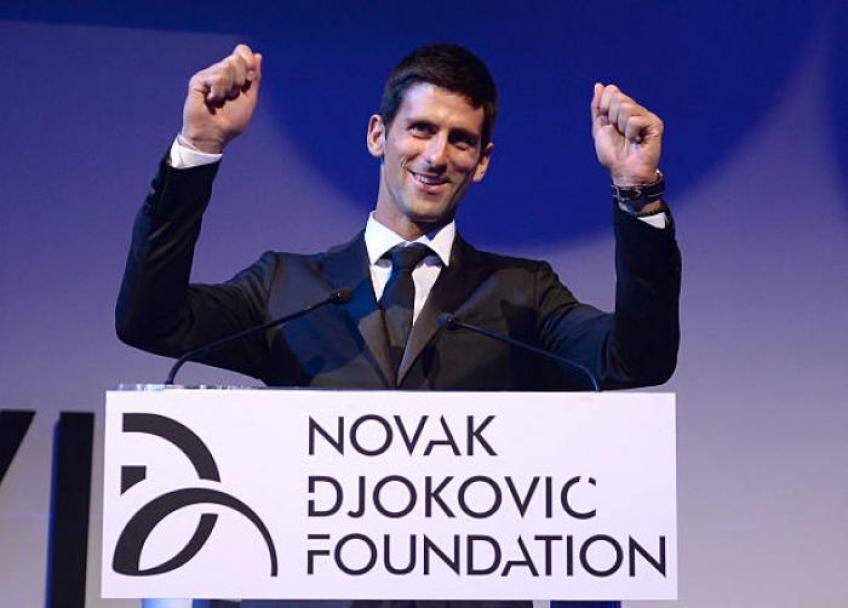 The Novak Djokovic Foundation: a life mission