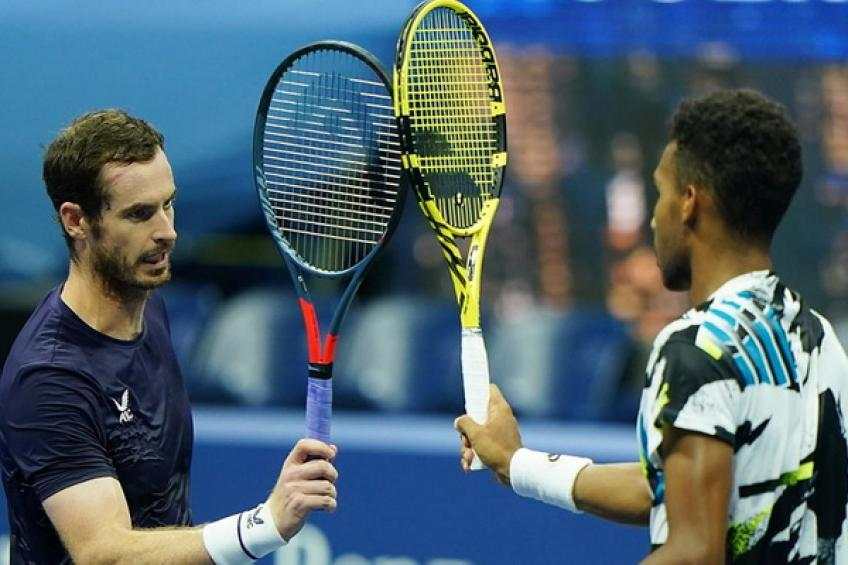 2020 in Review: Felix Auger-Aliassime eases past tired Andy Murray at the US Open