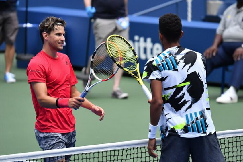 2020 in Review: Dominic Thiem tops Felix Auger-Aliassime in New York