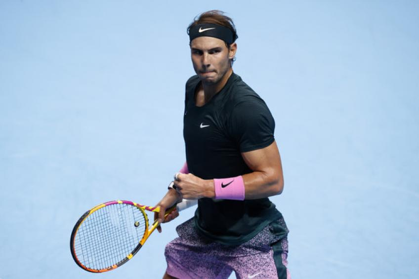 Rafael Nadal follows Roger Federer and Jimmy Connors on ranking milestone