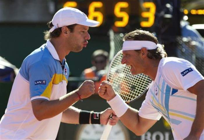 Davis Cup - Argentina take a 2-1 lead over France