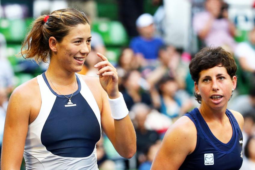 "Garbine Muguruza on Carla Suarez Navarro: ""It was a shock"""