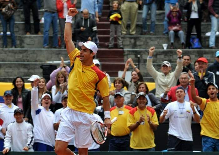 Davis Cup - Colombia reach World Group play-offs