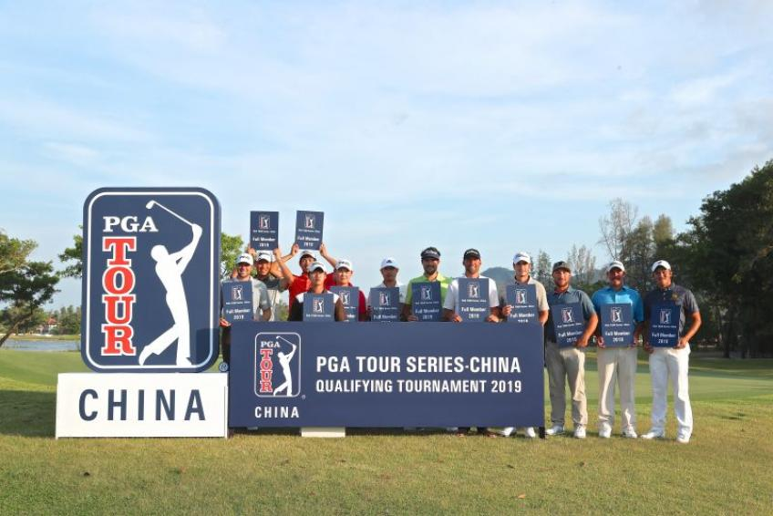 PGA Tour Series-China officially cancelled