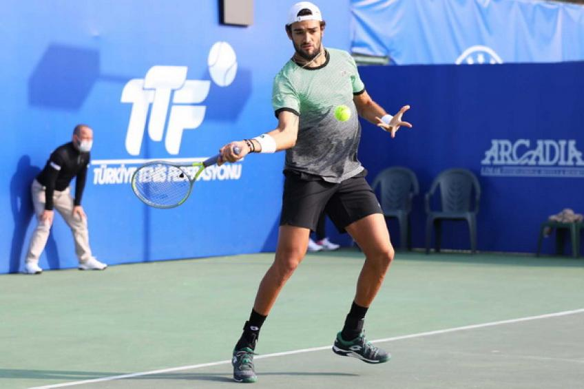 ATP Antalya: Matteo Berrettini marches on. Chardy downs Fognini in a thriller