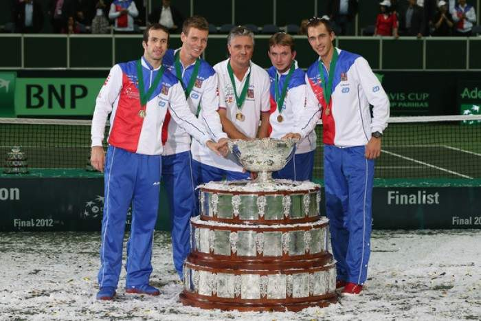 Davis Cup - Czech Republic take over no. 1 spot from Spain in ITF rankings