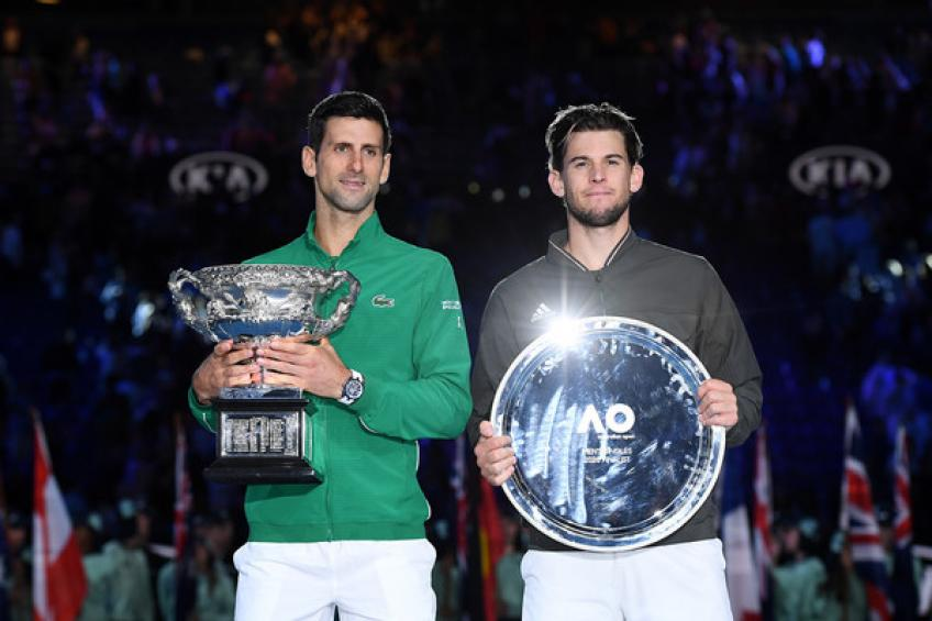 Dominic Thiem: 'Novak Djokovic and I played epic Melbourne final'