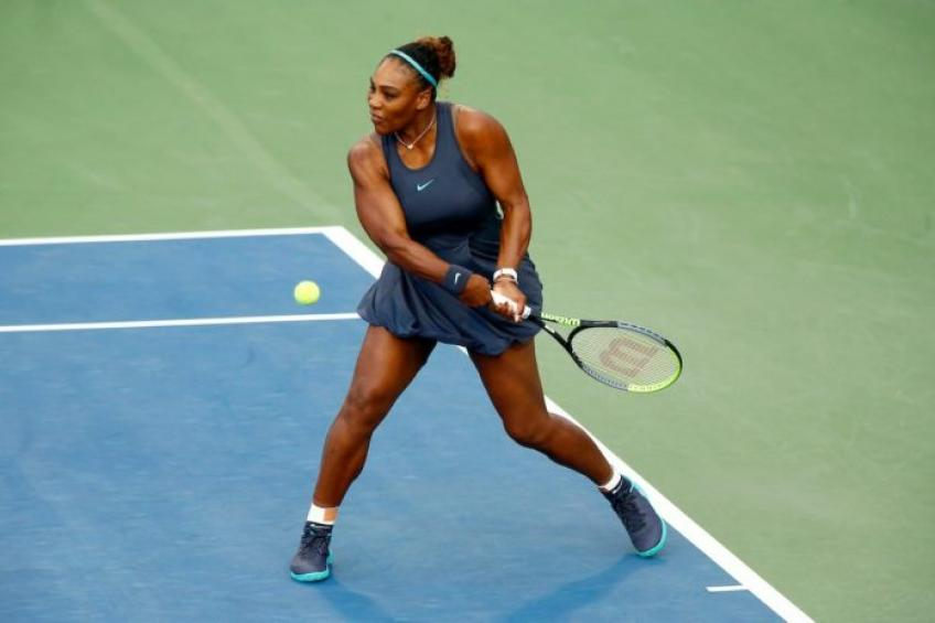 Who has defeated Serena Williams multiple times?