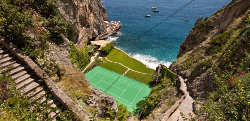"""The most beautiful tennis court in the world"" with Agostino Piccolo"