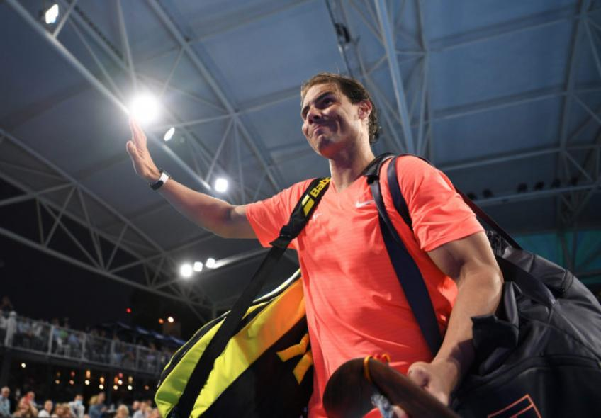 Rafael Nadal: 'He's young, he's brilliant every year'