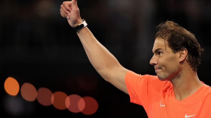 Rafael Nadal: 'I am not doing this stuff in practice or normal life'