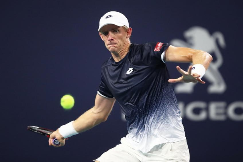 ATP Great Ocean Road Open: Kevin Anderson tops Feliciano Lopez. Djere bows out