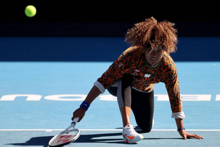 Naomi Osaka unchains her fighting spirit to pass Katie Boulter