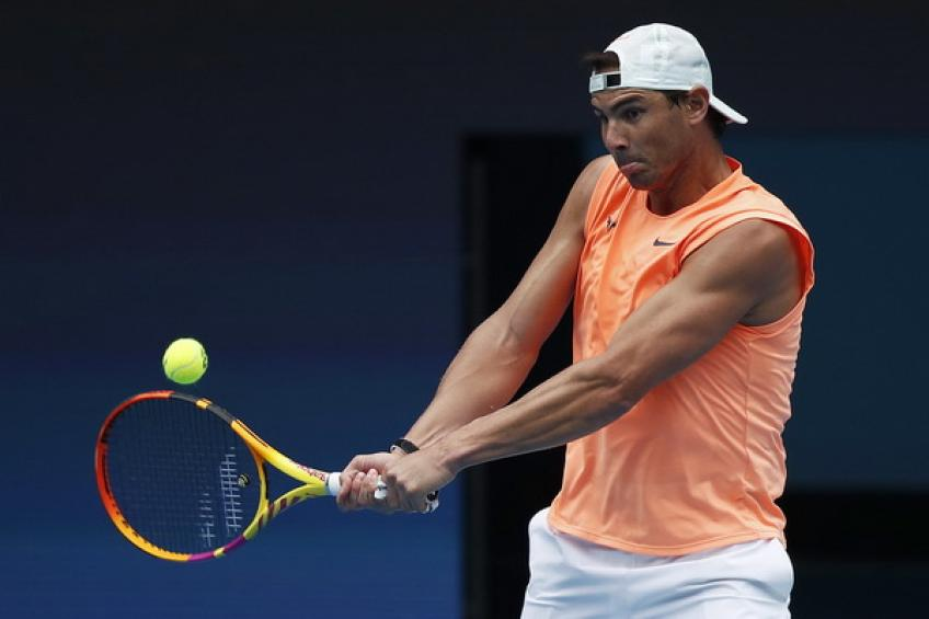 'Rafael Nadal hits every ball like it's a Major final,' says Jannik Sinner