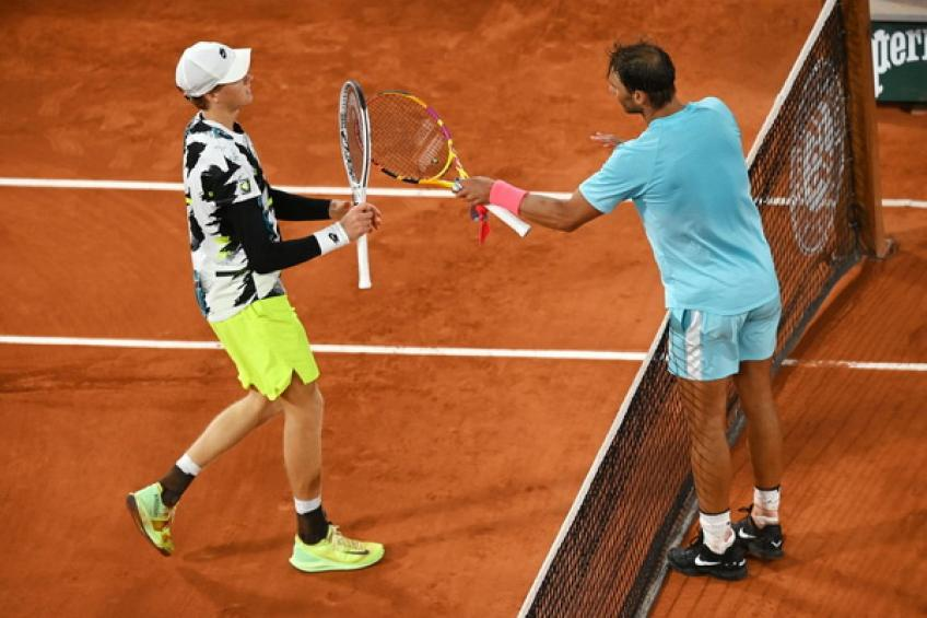 Jannik Sinner: 'I felt good against Rafael Nadal at Roland Garros'