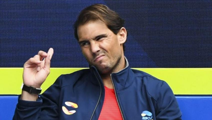 Rafael Nadal: 'At the end of one of the practice sessions I felt...'