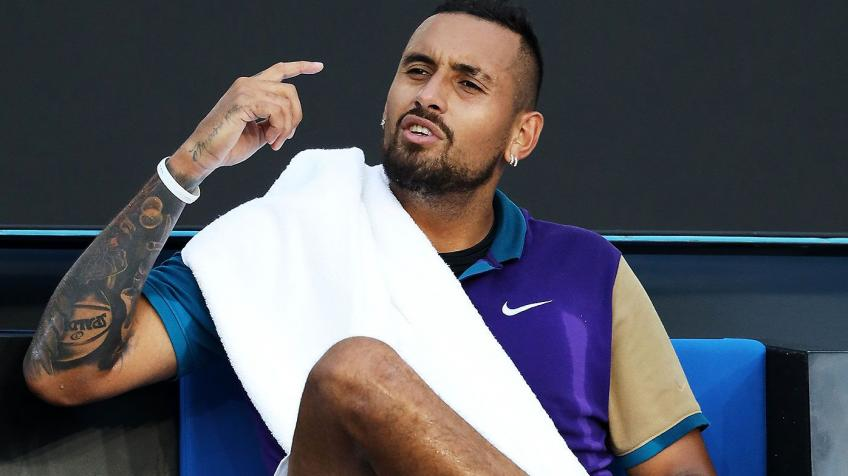 Nick Kyrgios 'not disappointed' after losing to Borna Coric