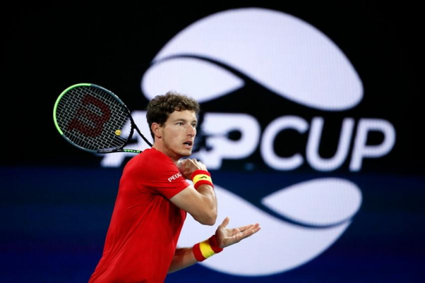 ATP Cup: Without Rafael Nadal, Spain reaches semi-final with a single win over Greece