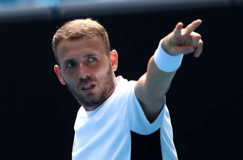 Daniel Evans reacts to thrashing Felix Auger-Aliassime for maiden ATP title