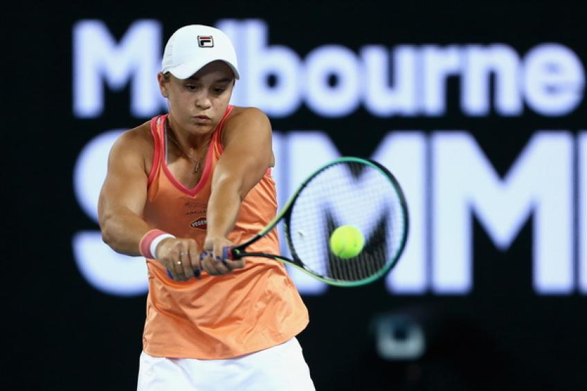 Ashleigh Barty: 'Garbine forced me to play well, she is exceptional frontrunner'