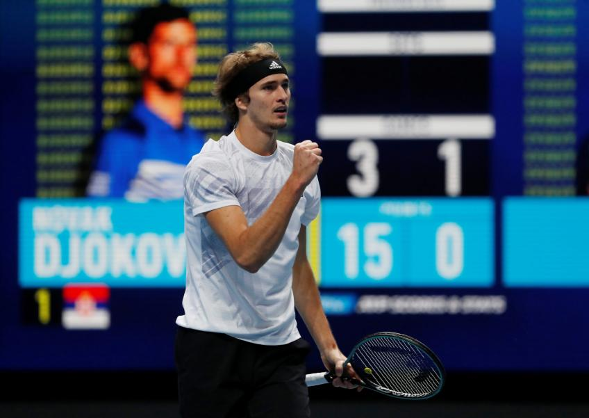 Alexander Zverev reacts to surviving AO first round scare against world No. 75