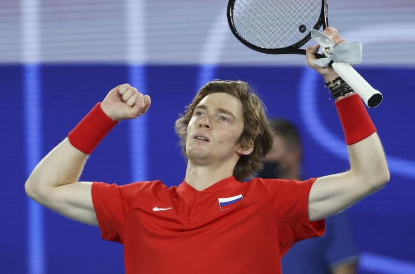 Andrey Rublev: I'm playing great tennis