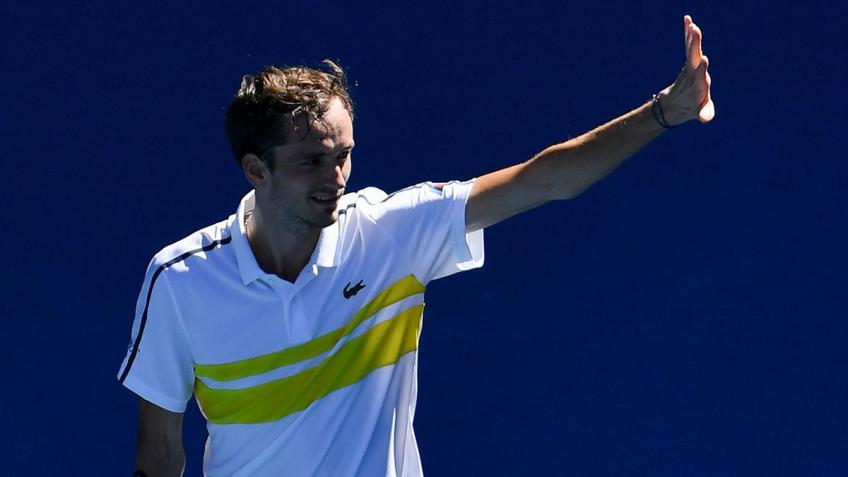 Thrilled with his form, Daniil Medvedev targets Australian Open title