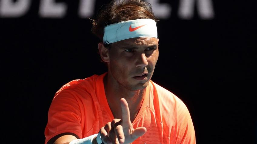 Rafael Nadal gives update on his back after second round win at AO
