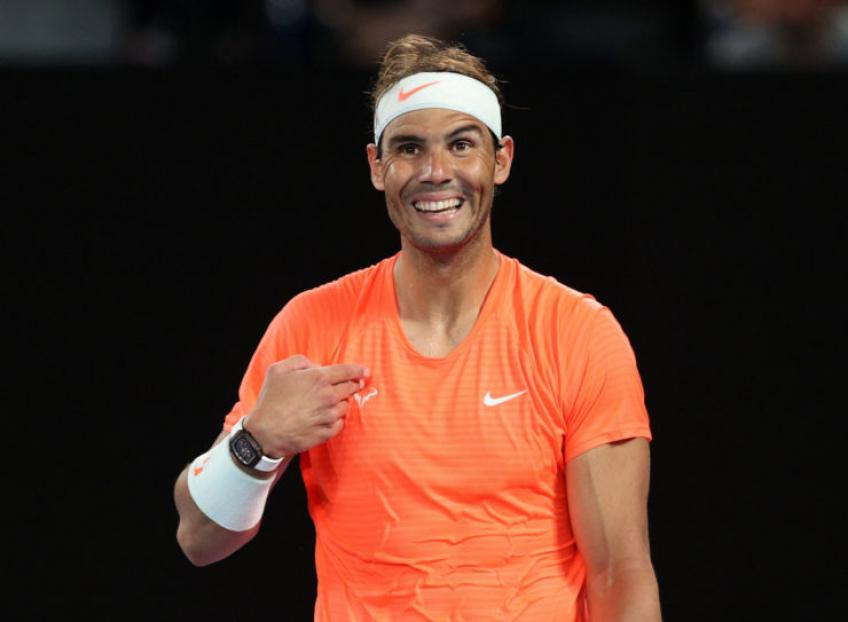 Rafael Nadal: 'I can't say private conversations here'