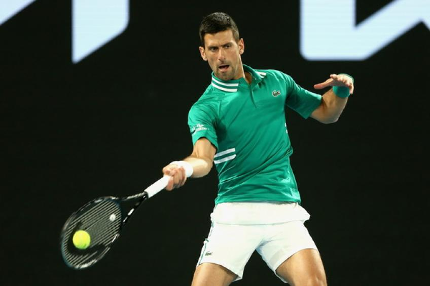 ATP Australian Open: Novak Djokovic overcomes Taylor Fritz and injury