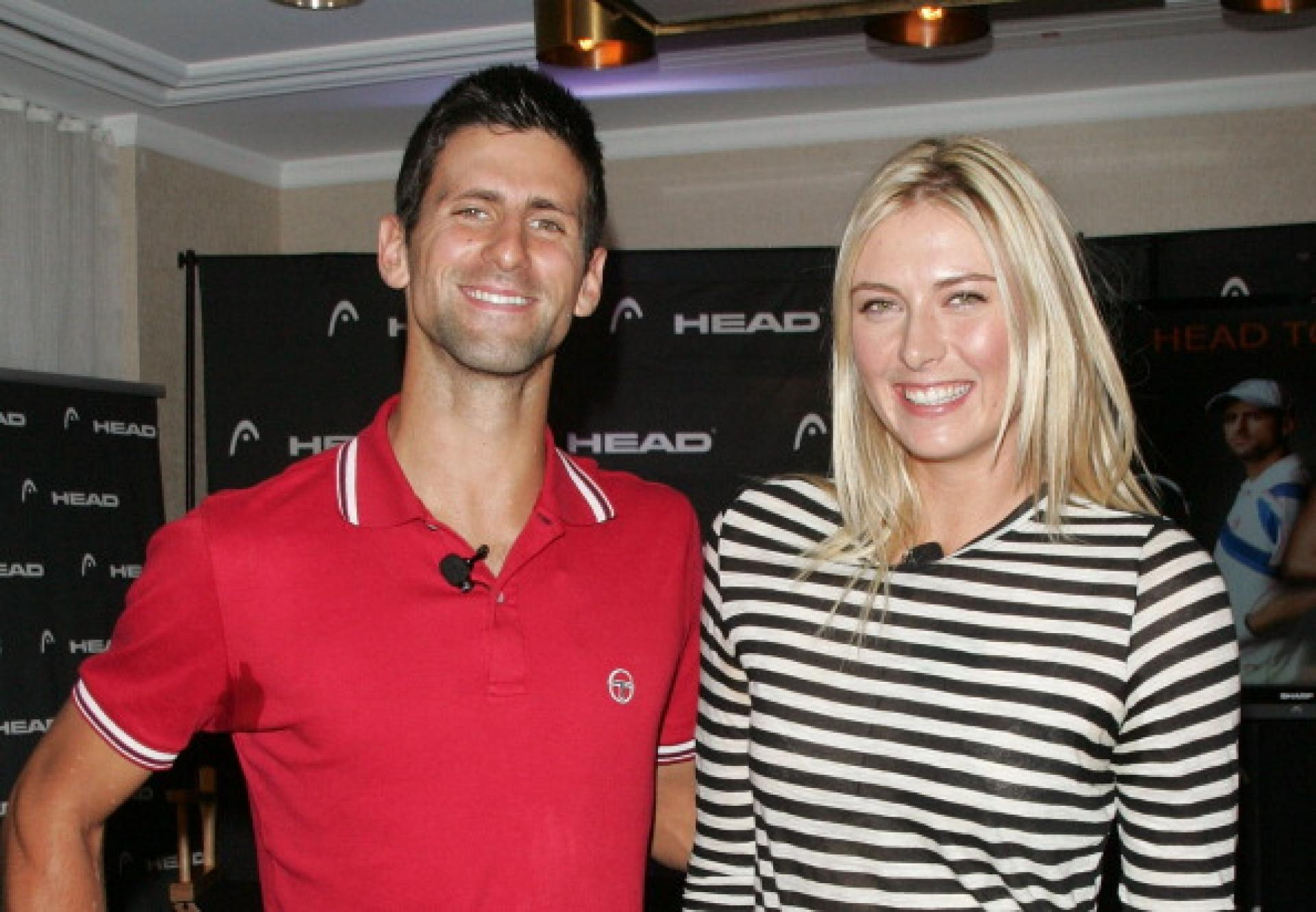 Maria Sharapova Novak Djokovic Is The Funniest Player About Mcenroe