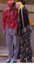 Maria Sharapova and Grigor Dimitrov spotted kissing in the streets of Madrid