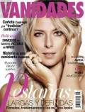 Tennis - Maria Sharapova on the cover of Vanidades magazine