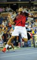 US Open - Tsonga downs Fish in five sets