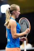 Johanna Larsson takes Sweden to a 4-0 lead win over Thailand