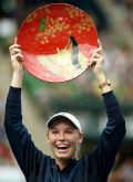 Caroline Wozniacki: 'I'm just enjoying every minute'