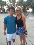 Kei Nishikori sends flowers to new mother Vika Azarenka