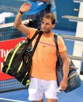 Rafael Nadal: 'Until the middle of the second set I played better than him'