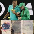 Jo Wilfried Tsonga Gets a Heartfelt Thank You Card from BallGirl. Find Out Why?