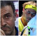 Luis Enrique: 'About Nadal, what I appreciate the most about him is his reaction to losses'