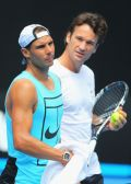 Carlos Moya's added guidance and Rafa's mental toughness sealed his Aussie finalist title!