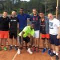 Andy Murray plays tennis with Premier League Stars! (PICS INSIDE)