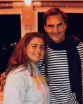Roger Federer enjoys relaxing holidays in Ibiza!