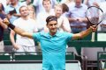 ATP Halle: Roger Federer struggles but tops Matthew Ebden in straights