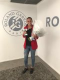 Roberta Vinci's trophies stolen, French Open gives her a replacement