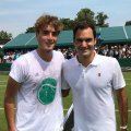 Stefanos Tsitsipas reveals private conversation with Roger Federer